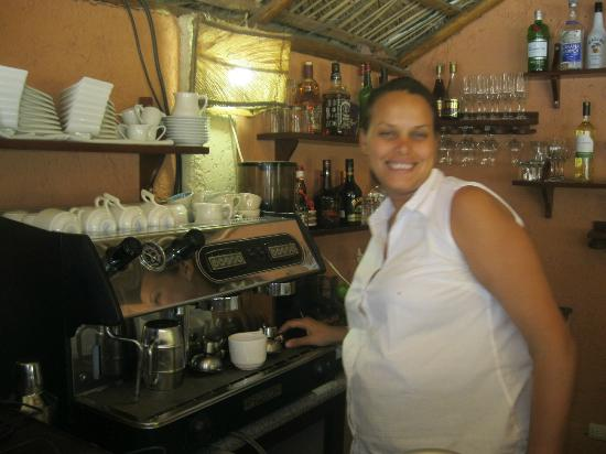 Casa Valeria Boutique Hotel: my great coffee maker