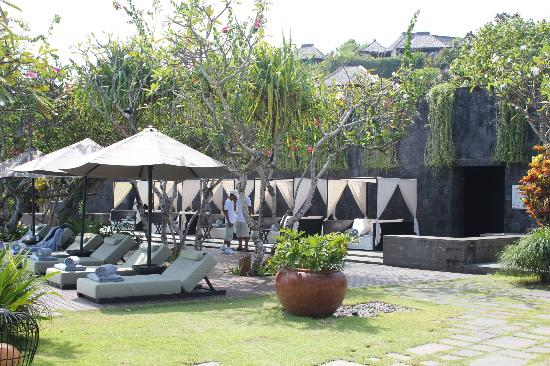 Bulgari Resort Bali: Main pool area