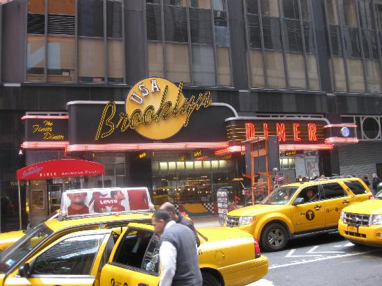 Brooklyn Diner Times Square Picture Of Brooklyn Diner