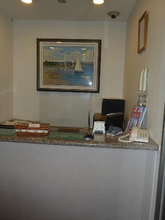 Hotel Sun Coral: フロント