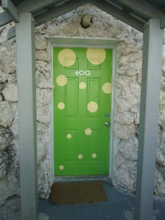 Ibis Bay Beach Resort: Door to our suite