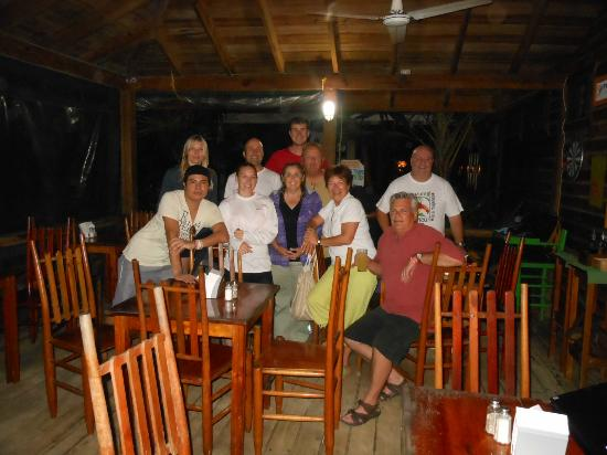 Las Rocas Resort & Dive Center: Group shot dining area