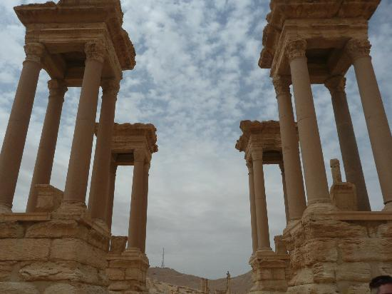 Tetrapylon at Palmyra