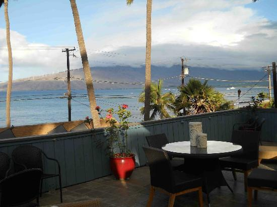 Maui Sunseeker LGBT Resort: View from rooftop deck.