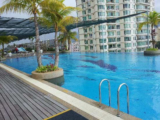 Bayview Hotel Georgetown Penang: Swimming Pool