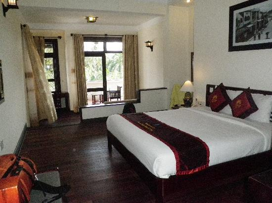 Hoi An Trails Resort: suite view