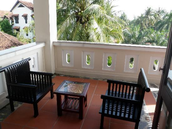 Hoi An Trails Resort: Balkon