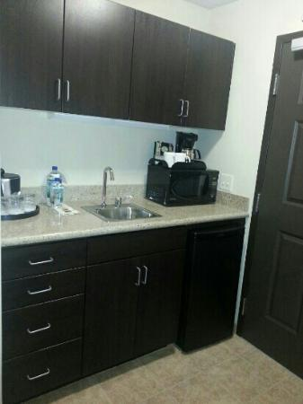 Holiday Inn Oceanside Camp Pendleton Area: Kitchenette