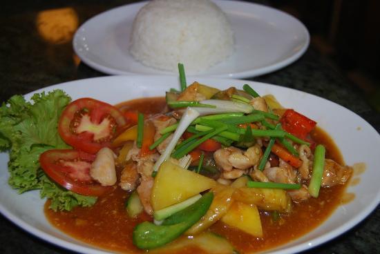 Pier 42 Boutique Resort & Spa: Thai food