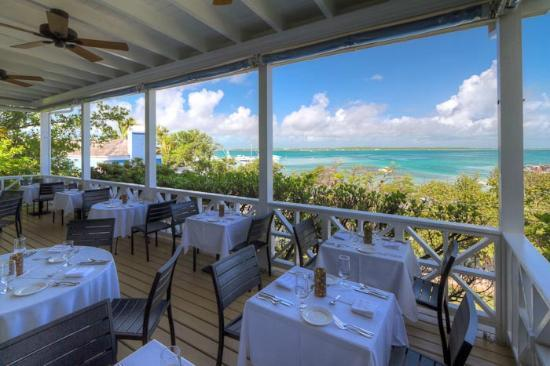 Rock House: Dining Deck - Fabulous View of Sunsets & Dunmore Bay