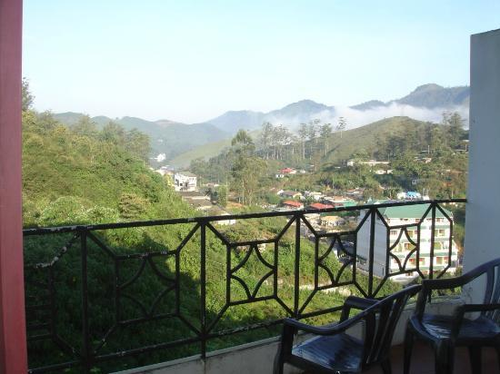 Elysium Garden Hill Resorts: View from our room