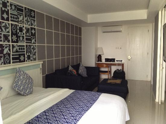 Astana Pengembak Suite Apartment & Villa: my room..very cosy