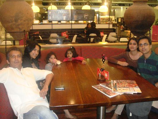 Nando's - Canary Wharf: Fun with friends at Nando's Canary Wharf