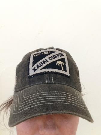 ‪‪Kauai Coffee Company‬: grab yourself a cool hat at their little shop‬
