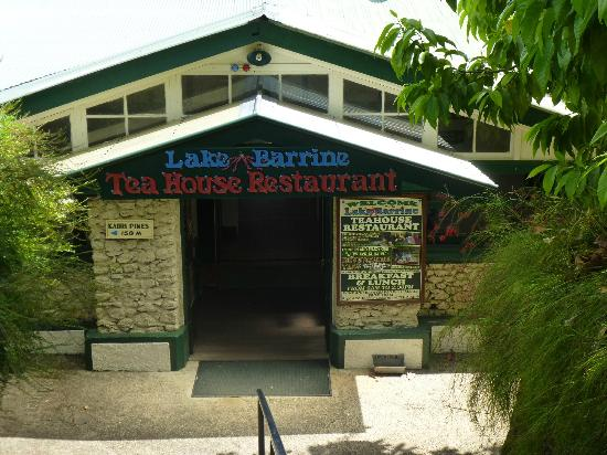 Lake Barrine Tea House, Restaurant And Cottage Accomodation : Entrance to the Tea House and Restaurant