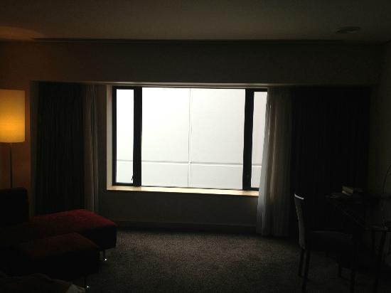 Crowne Plaza Auckland: The view: A wall