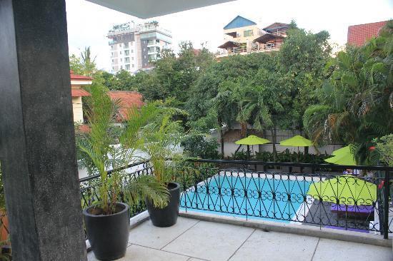 Samsara Villa : View from our balcony.