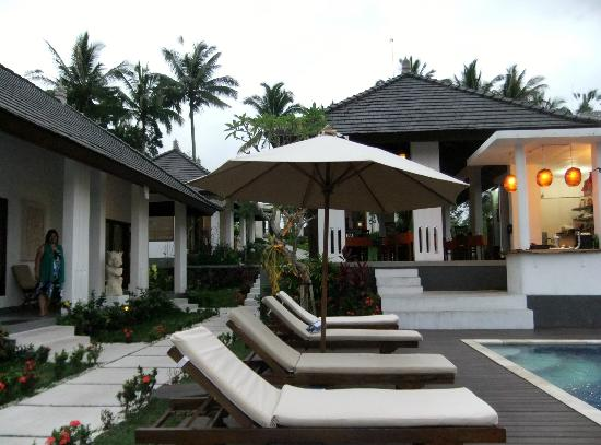 The Samara: View of the Villas from the Pool area
