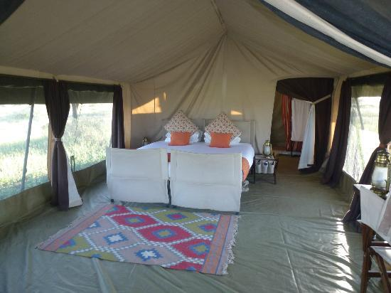 ‪‪Olakira Camp, Asilia Africa‬: our tent