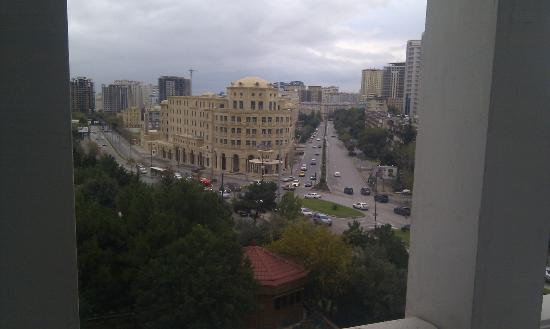 Grand Hotel Europe: View from the window / day