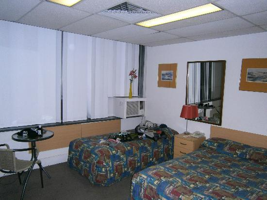 "Motel Adjacent Casino: My ""Upgraded"" room."