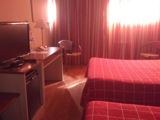 Hotel Andorra Center: Habitación de la ultima planta