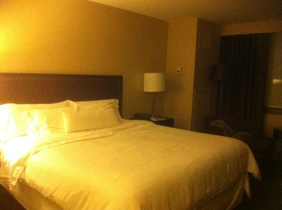 The Westin Tysons Corner: The king bedroom...