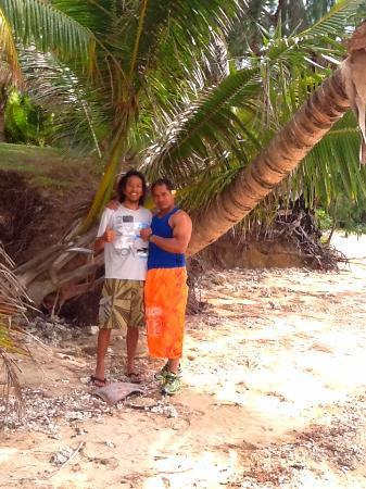 Beach Cocomo: Isao & Pule :)