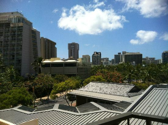 Luana Waikiki Hotel & Suites: View from our room...
