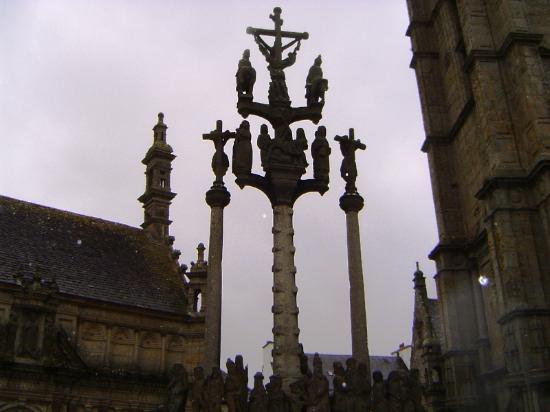 Les 7 calvaires monumentaux de Bretagne : Calvario St. Thegonnec