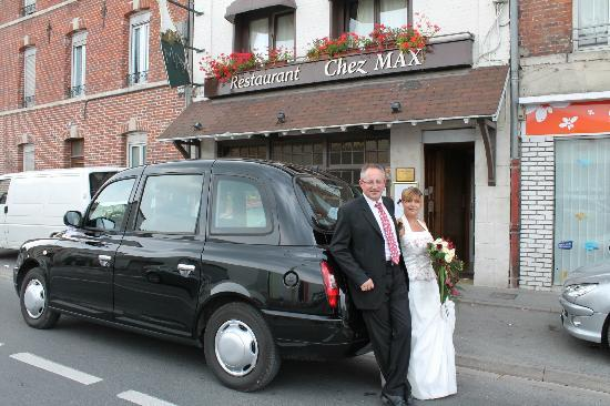 Restaurant Chez Max : devant le resto