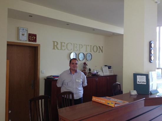 Hotel Aurelia : grat staff