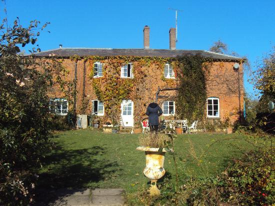 Lower Buckton Country House: View of the rear of the house