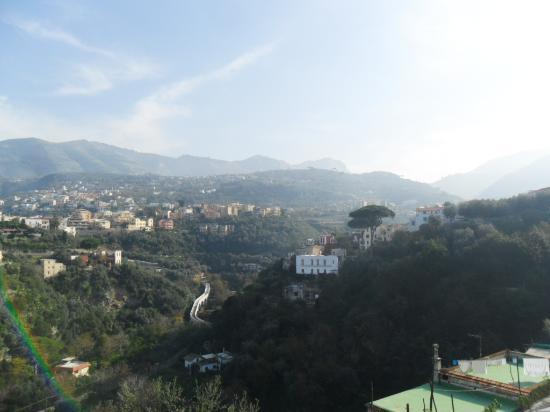 Grand Hotel Angiolieri: view from our terrace