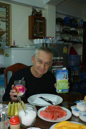 Thien An Hotel : lait milk