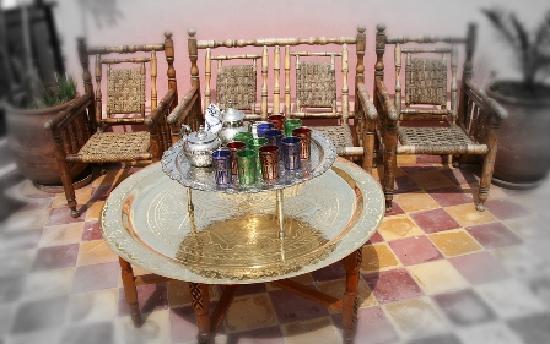 Riad Jardin Chrifa: terrace