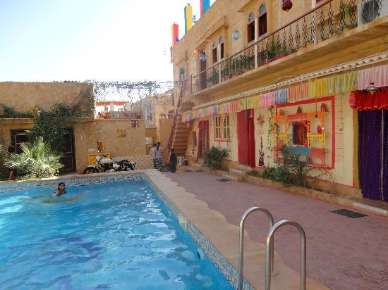Swimming pool picture of hotel the royale jaisalmer - Jaisalmer hotels with swimming pool ...
