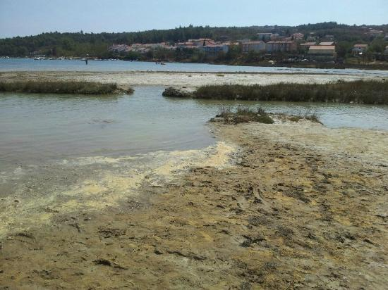 Krk Island, Croacia: soline bay