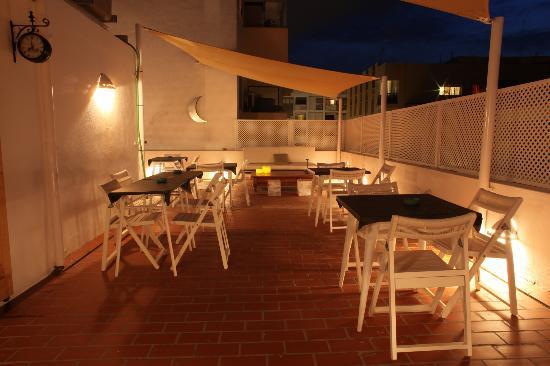 Terraza Restaurante Picture Of Hostal Juanita Ibiza