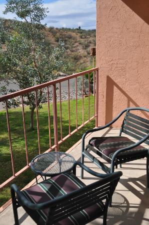 Esplendor Resort at Rio Rico: View from our balcony.