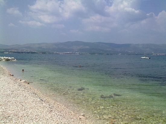 Villa Malo More: пляж в 20 метрах от Мало Море