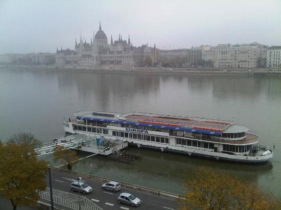 art'otel budapest: view
