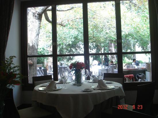 Parador de Granada: レストラン