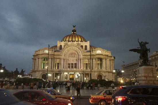 Mexiko-Stadt, Mexiko: palacio de bellas artes mexico city