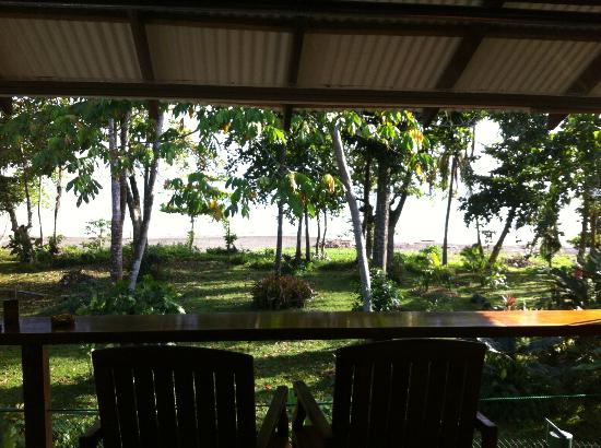 Villas Serenidad (formerly Mother Dear Ocean Cottages): We spend almost every morning and evening sitting here