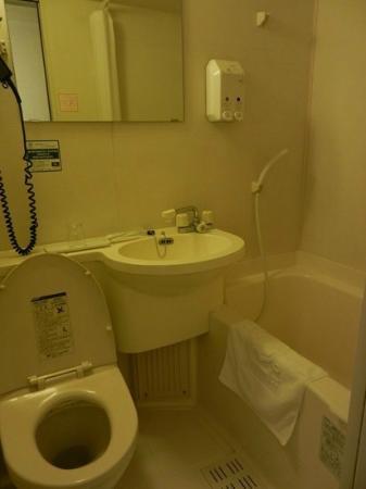 R&B Hotel Higashi Nihonbashi: bathroom