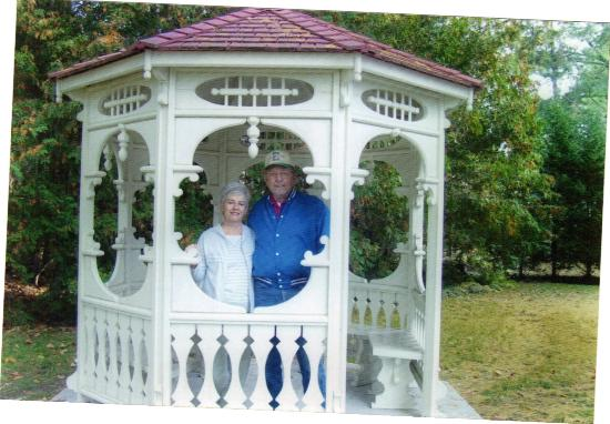 The Grand Victorian B&B: The gazebo out front.