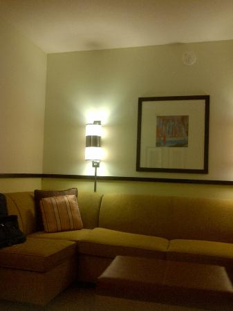 Hyatt Place West Palm Beach Downtown: Living Area