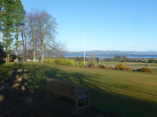 Golf View House: View from the garden looking towards Dornoch Firth