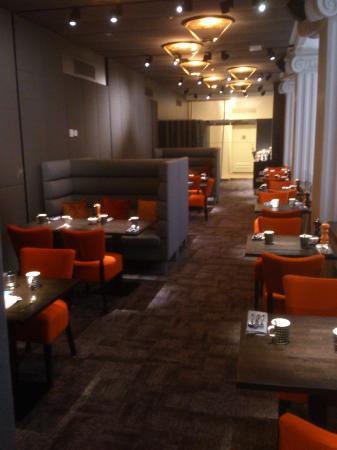 Radisson Blu Plaza Hotel, Helsinki: Executive lounge dining area